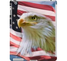 Proud American Bald Eagle iPad Case/Skin