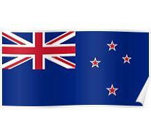 New Zealand - Standard Poster