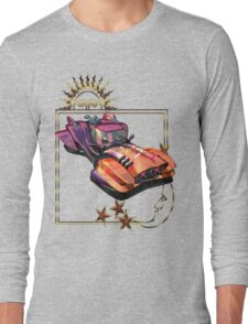 Future Travel .. space car Long Sleeve T-Shirt