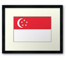 Singapore - Standard Framed Print