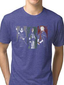 Souls Waifus Tri-blend T-Shirt
