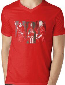 Souls Waifus Mens V-Neck T-Shirt