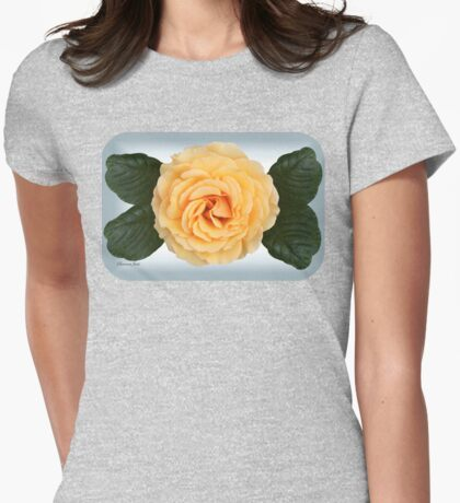 Elusive Soul of a Rose ~ Inner Sun Womens Fitted T-Shirt