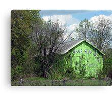 Eco-Barn Canvas Print
