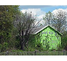 Eco-Barn Photographic Print