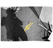 little yellow mystery man Poster