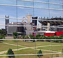 Reflections of Heinz Field by Monnie Ryan