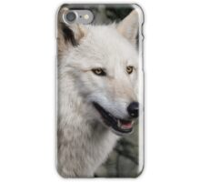 Grey Wolf Portrait iPhone Case/Skin