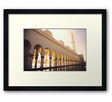 Grand Mosque Framed Print