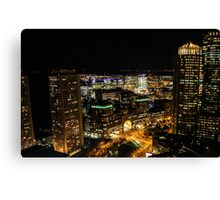 Stay Up With the City Canvas Print