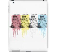 color dalek iPad Case/Skin