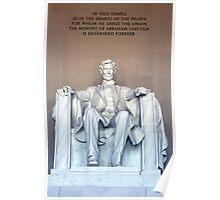 Lincoln Memorial 02 Poster