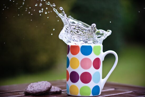 Spotty splash by Karen Anderson