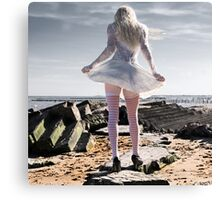 Glamour in the Ruins Canvas Print