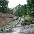 Stairs on the fortress by Ana Belaj