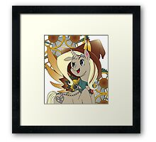Steampunk Pony Framed Print