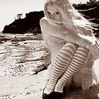 Waif on the Beach by melmoth