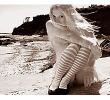 Waif on the Beach Photographic Print