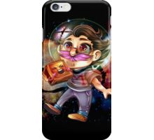 MARK IN SPACE  iPhone Case/Skin