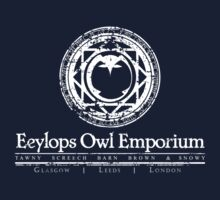 Eeylops Owl Emporium in White One Piece - Long Sleeve