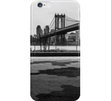 Walk away from the city iPhone Case/Skin