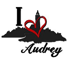 Haven I Love Audrey Logo by HavenDesign