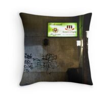 Palermo Alleyway Throw Pillow