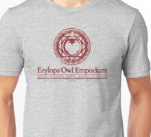 Eeylops Owl Emporium in Red Unisex T-Shirt