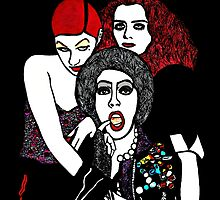 Rocky Horror Picture Show by Polly Bond
