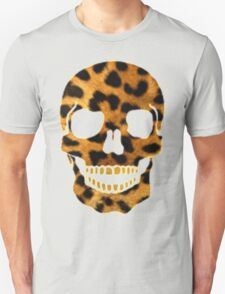 skull head leopard T-Shirt