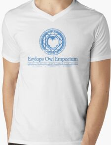 Eeylops Owl Emporium in Blue T-Shirt