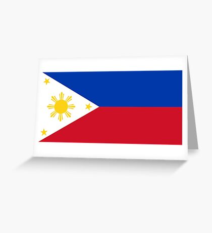 Philippines - Standard Greeting Card