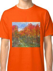 Autumn makes me sing Classic T-Shirt