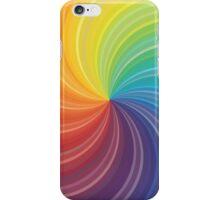 Rainbow Warp iPhone Case/Skin