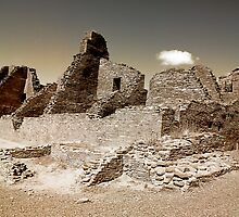 Chaco Canyon by Cheryl L. Hrudka