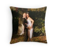Original Personal Wedding Photography Throw Pillow
