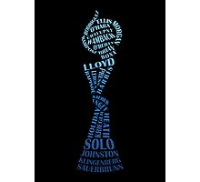 US Soccer WNT - World champions - 2015 - blue Photographic Print