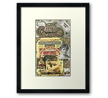 All Aboard!(The Orient Express) Framed Print