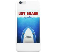 Left Shark Parody - Jaws - Funny Movie / Meme Humor iPhone Case/Skin