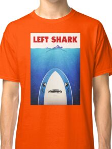 Left Shark Parody - Jaws - Funny Movie / Meme Humor Classic T-Shirt