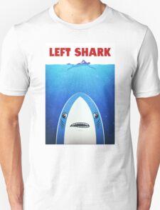 Left Shark Parody - Jaws - Funny Movie / Meme Humor Unisex T-Shirt