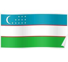 Uzbekistan - Standard Poster