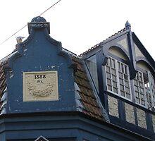 Rooftop Windows 1888 by queenbeecc