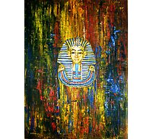 Mask of Tutankhamun Photographic Print