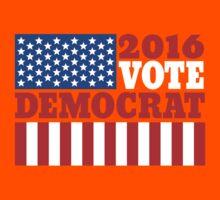Vote democrat Kids Tee