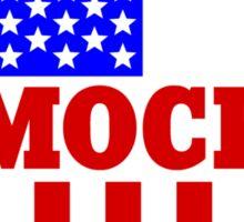 Vote democrat Sticker