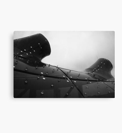 Our proud and modern ocean liner Canvas Print