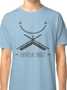 Universal Energy - Typography and Geometry Classic T-Shirt