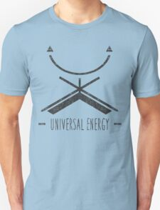 Universal Energy - Typography and Geometry T-Shirt