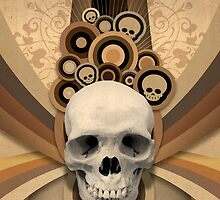 Insanity Skull by whacko